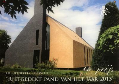 Sijmens bouw, rietgedekte woning Empel, eerste prijs
