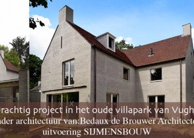 Sijmens Bouw, villa Vught