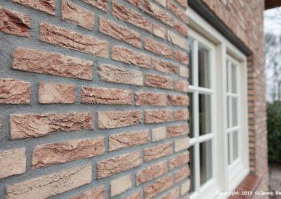 Sijmens bouw, woonhuis met rieten kap
